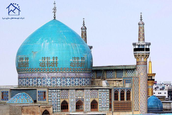 راهنمای سفر به مشهد - مسجد گوهر شاد