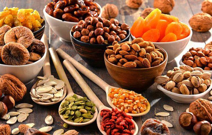 لیست سوغاتی های مشهد، خشکبار مشهد