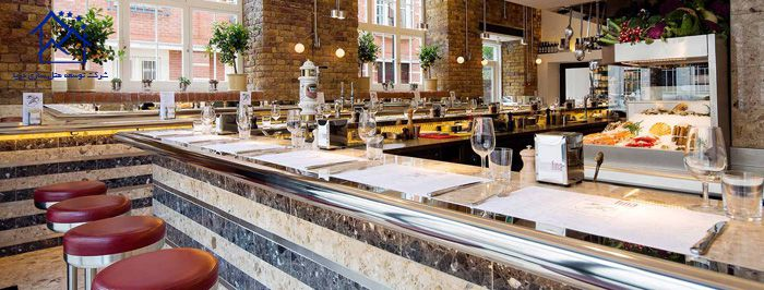 بهترین رستوران های لندن - بارافینا