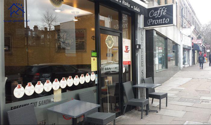 کافه های لندن - پرونتو