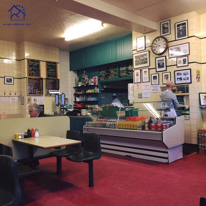 کافه های لندن -ریجنسی