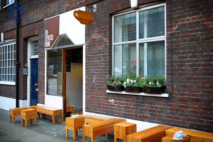 کافه های لندن -اتاق اسپرسو
