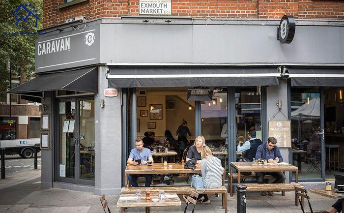 کافه های لندن - کاراوان
