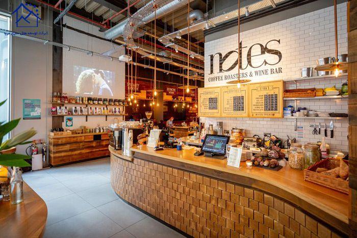 کافه های لندن - نوتس
