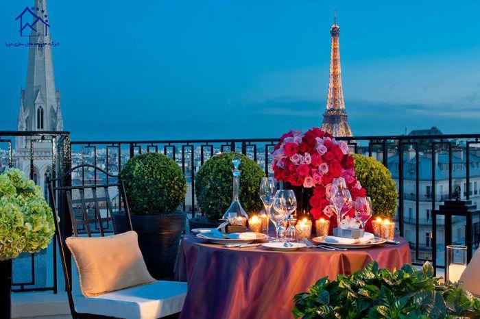 بهترین هتل های پاریس - هتل چهار فصل ژرژ پنجم