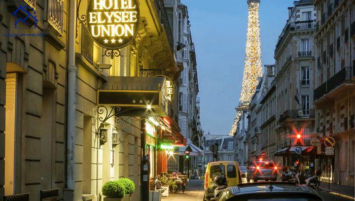 بهترین هتل های پاریس - الیزه