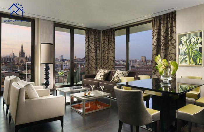 بهترین هتل های میلان - آپ تاون پالیس