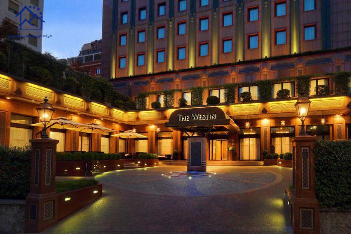 بهترین هتل های میلان - د وستین پالاس