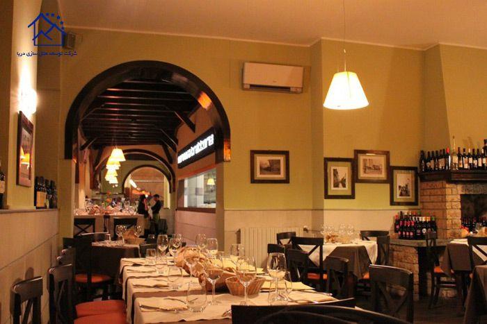 رستوران های میلان