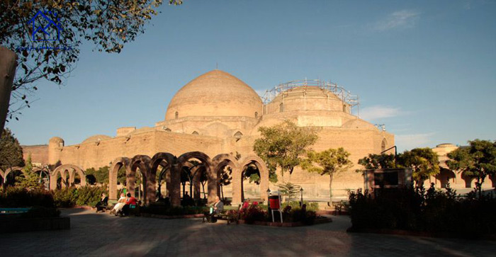 جاذبه های دیدنی شهر تبریز - مسجد کبود