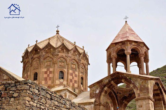 بهترین جاذبه های گردشگری تبریز - کلیسای استفانوس مقدس