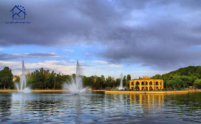 بهترین جاذبه های گردشگری تبریز - پارک ایل گلی