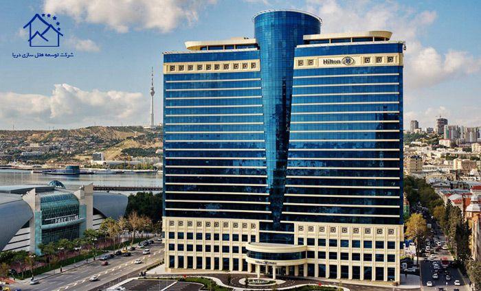 لوکس ترین هتل های لندن - هیلتون باکو