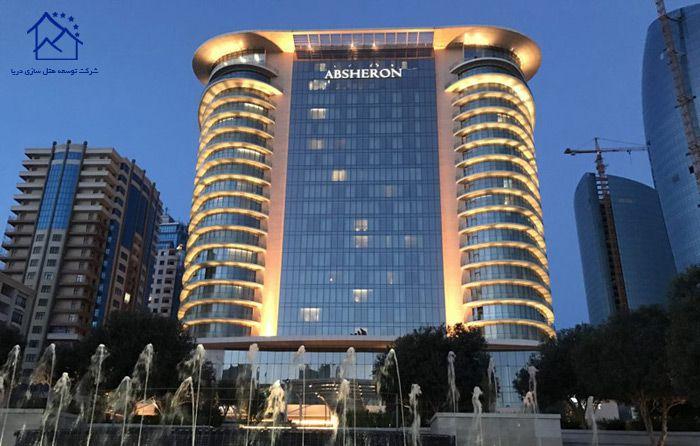 لوکس ترین هتل های لندن - جی دبلیو ماریوت آبشرون