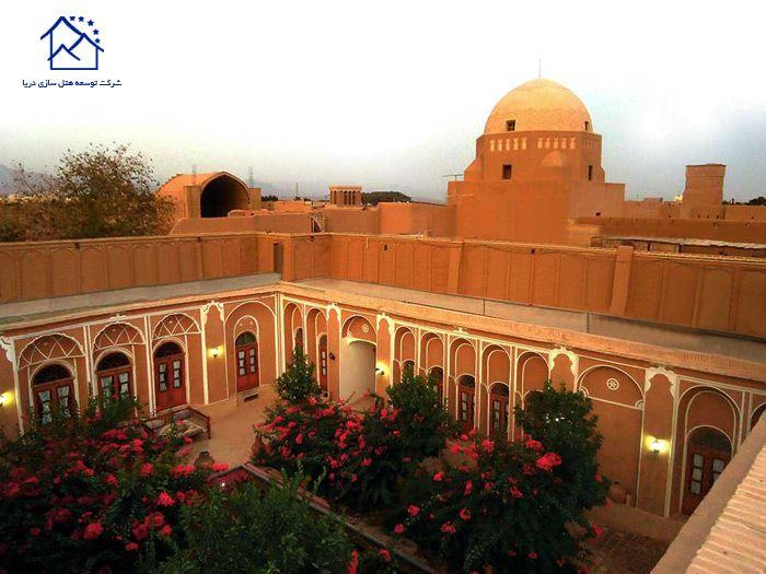 لوکس ترین هتل های یزد- کهن کاشانه