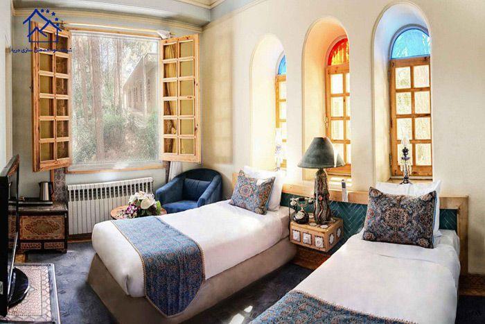 لوکس ترین هتل های یزد - هتل صفائیه