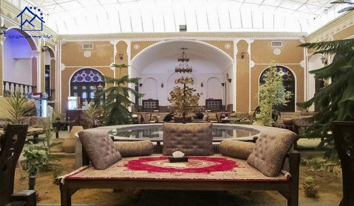 لوکس ترین هتل های یزد - هتل سنتی رز