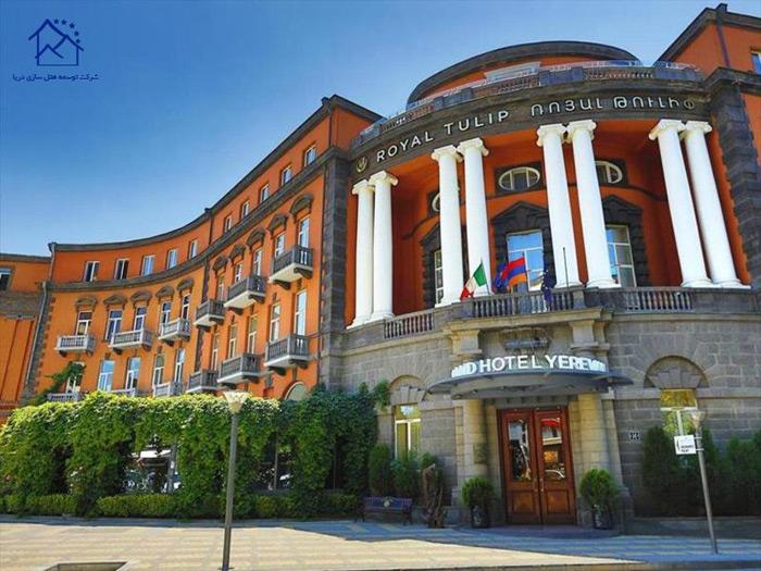 هتل های  مجلل در ایروان - گرند ایروان