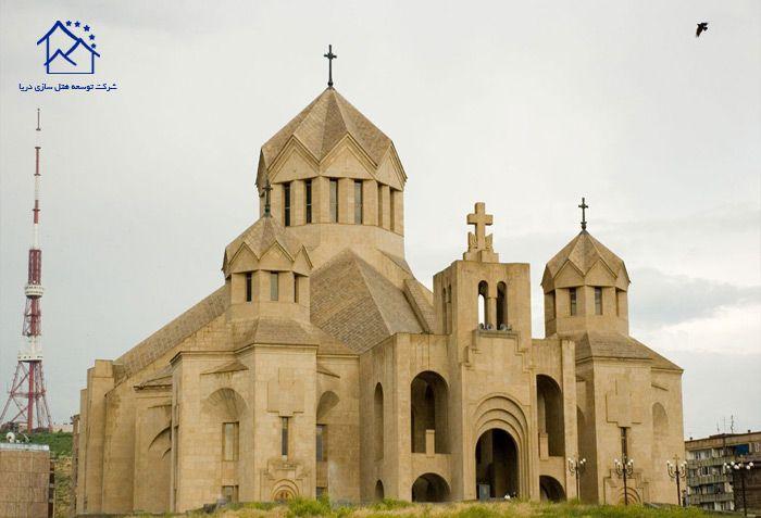 مهمترین جاذبه های گردشگری ایروان - کلیسای جامع سنت گریگور روشنگر