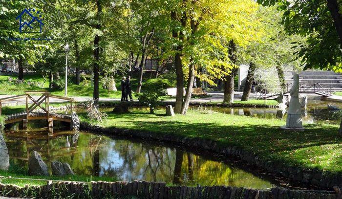مهمترین جاذبه های گردشگری ایروان - پارک عشاق