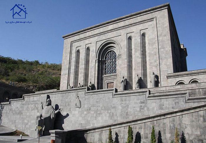 مهمترین جاذبه های گردشگری ایروان - ماتناداران