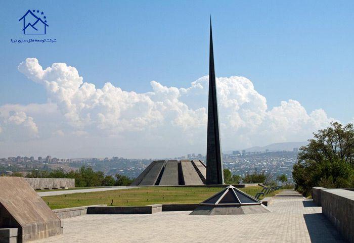 مهمترین جاذبه های گردشگری ایروان - یادمان نسل کشی ارمنی ها