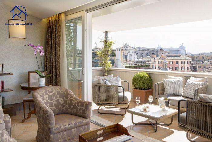هتل های لوکس در رم - ایتالیا - نازیوناله