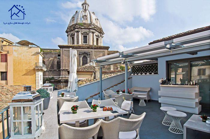 هتل های لوکس در رم - ایتالیا - لونتا