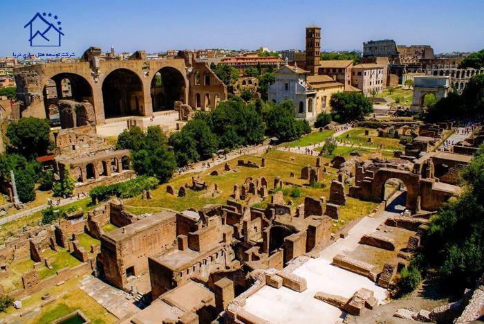 جاذبه های دیدنی در رم - تپه ی پالاتین