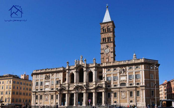 جاذبه های دیدنی در رم - کلیسای باسیلیکای سنتاماریا مجیوره