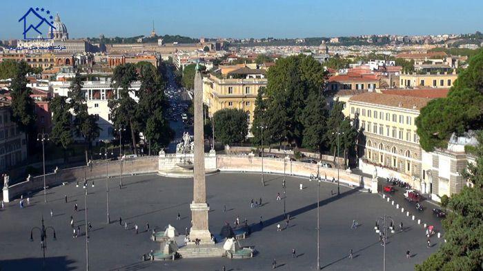 جاذبه های دیدنی در رم - میدان پوپولو