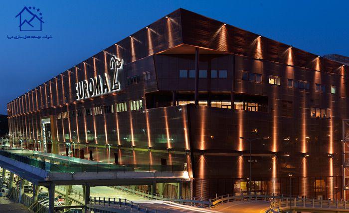 مهمترین مراکز خرید در شهر رم - یوروما 2