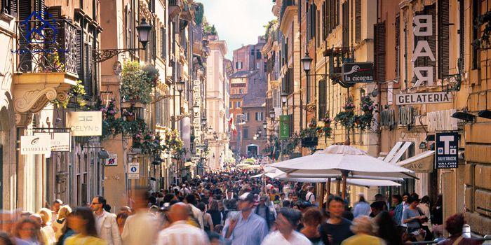 مهمترین مراکز خرید در شهر رم - محله مونتی