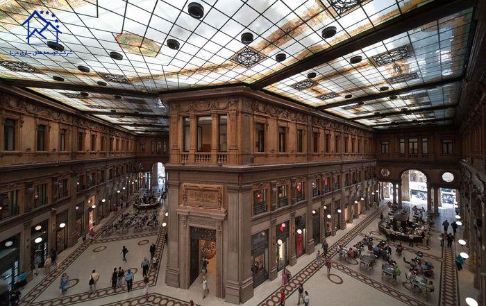 مهمترین مراکز خرید در شهر رم - گالریا آلبرتو سوردی