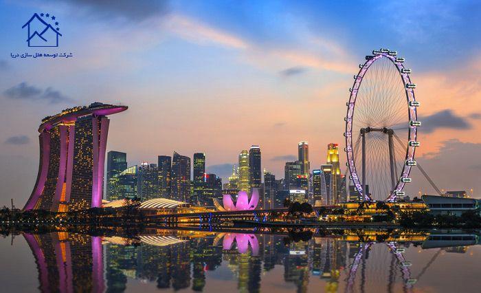 مهمترین جاذبه های گردشگری سنگاپور - چرخ و فلک سنگاپور