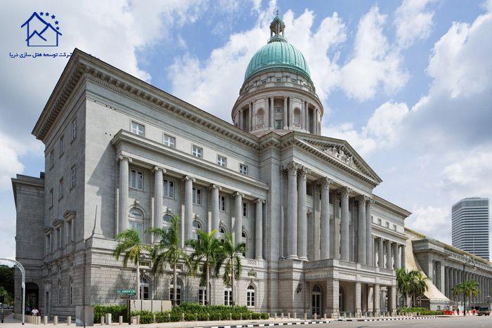 مهمترین جاذبه های گردشگری سنگاپور - گالری ملی تاریخی