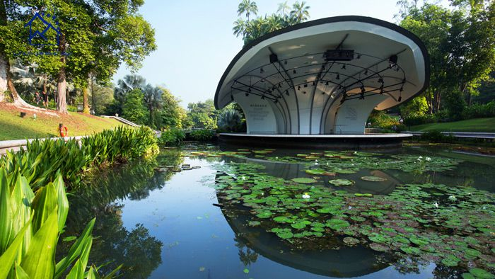مهمترین جاذبه های گردشگری سنگاپور - باغ های گیاه شناسی