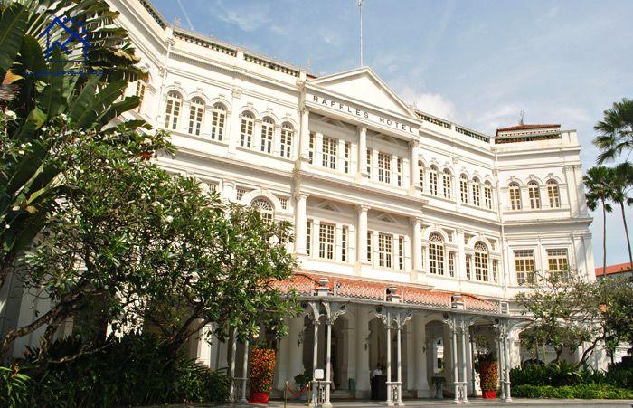 مهمترین جاذبه های گردشگری سنگاپور - هتل رافلز