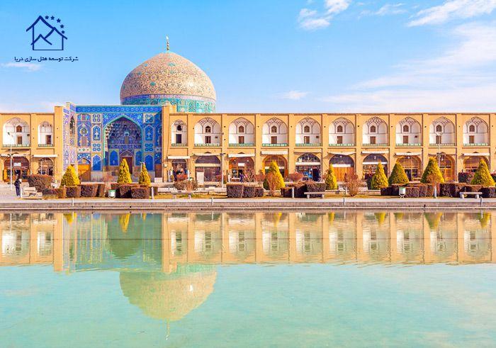 جاذبه های گردشگری شهر اصفهان - میدان نقش جهان