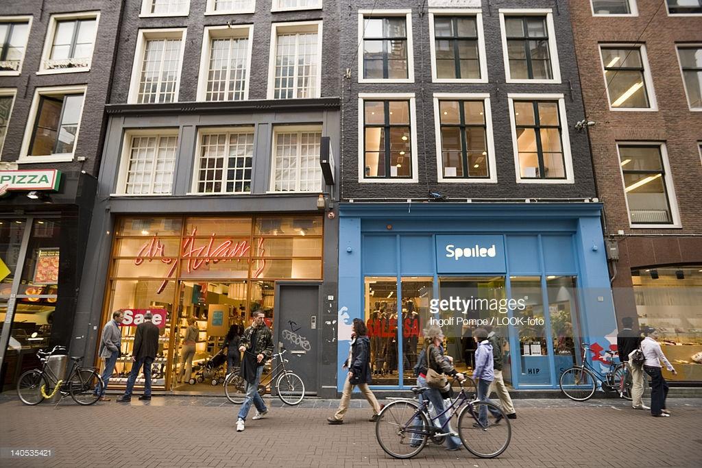 خیابان لیدس استرات بورس کفش (Leidsestraat)