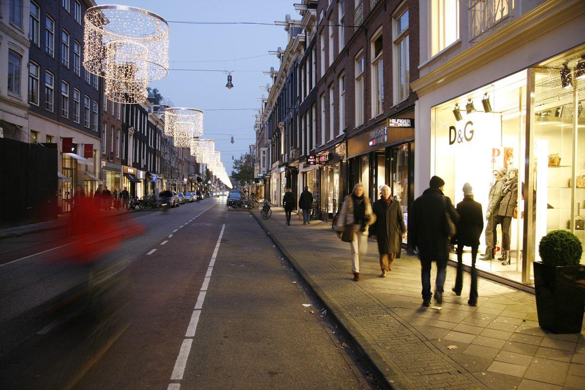 خیابان پی سی هوف استرات مجموعه ای برند ها (Pc Hooftstraat)