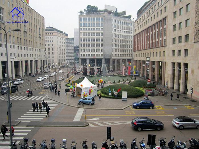 میدان سن بابیلا میلان ایتالیا