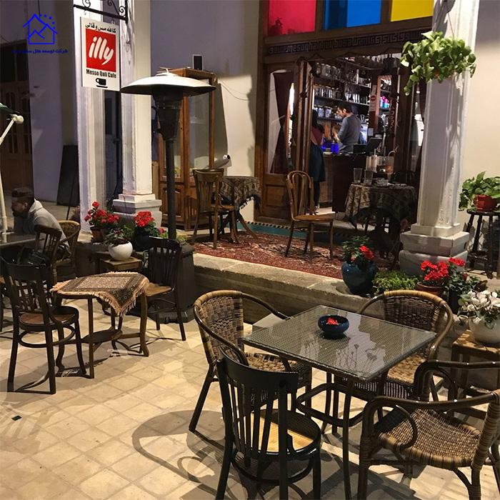 کافه رستوران مس و قالی