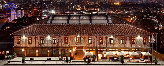 هتل دیوان کوکورهان آنکارا(DIVAN CUKURHAN HOTEL ANKARA)
