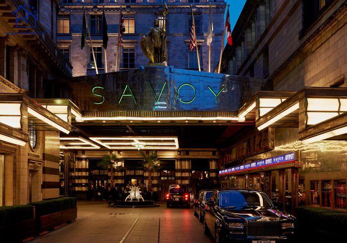لوکس ترین هتل های لندن - هتل ساووی